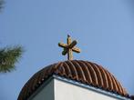 Очень интересный крест, типичный впрочем для Греции