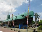 Российская (советская) подводная лодка 1950х годов сделана музеем.