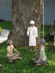 история Индонезии в микро-скульптурах! ...Распространение ислама в Индонезии