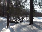 Деревянные мостики в парке