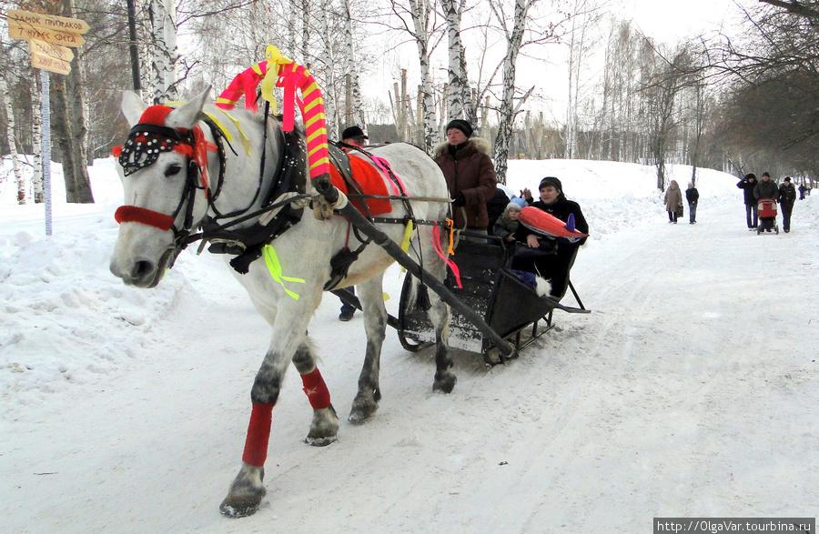 Лошади бежали неспешным шагом. Эх! Где ты, удаль русская.