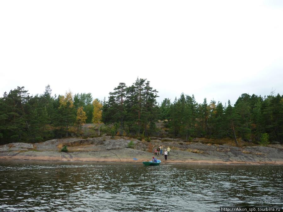 острова выборг рыбалка