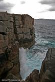 А это скалистое побережье недалеко от города Олбани (Albany) с которого, если посчастливится, можно увидеть Горбатых китов.