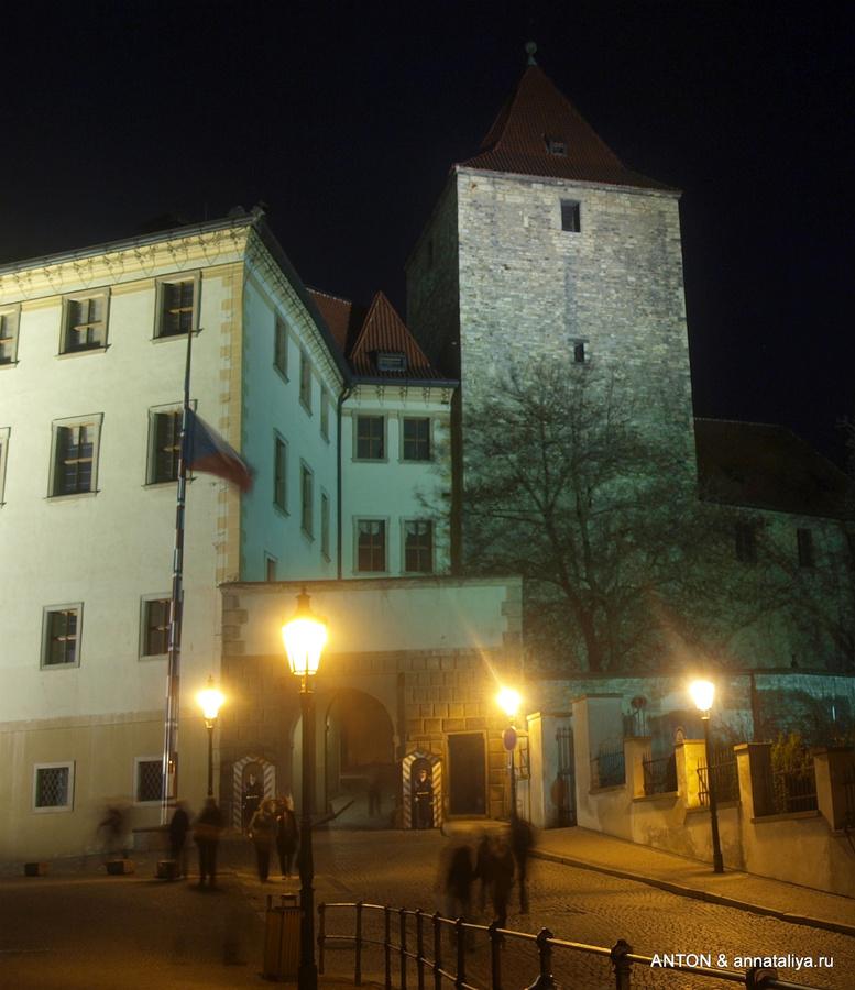 Вход в Пражский Град
