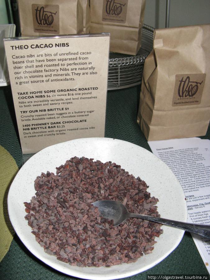 Нибс — измельченый какао.