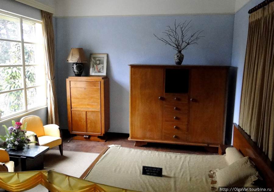 Комната наследного принца Бао Лонга