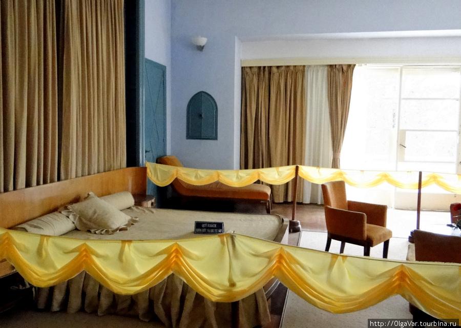 Спальная комната императора