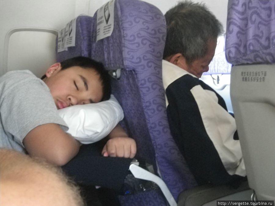 Спят все и везде