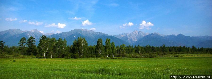 Баргузинская долина и Баргузинский хребет