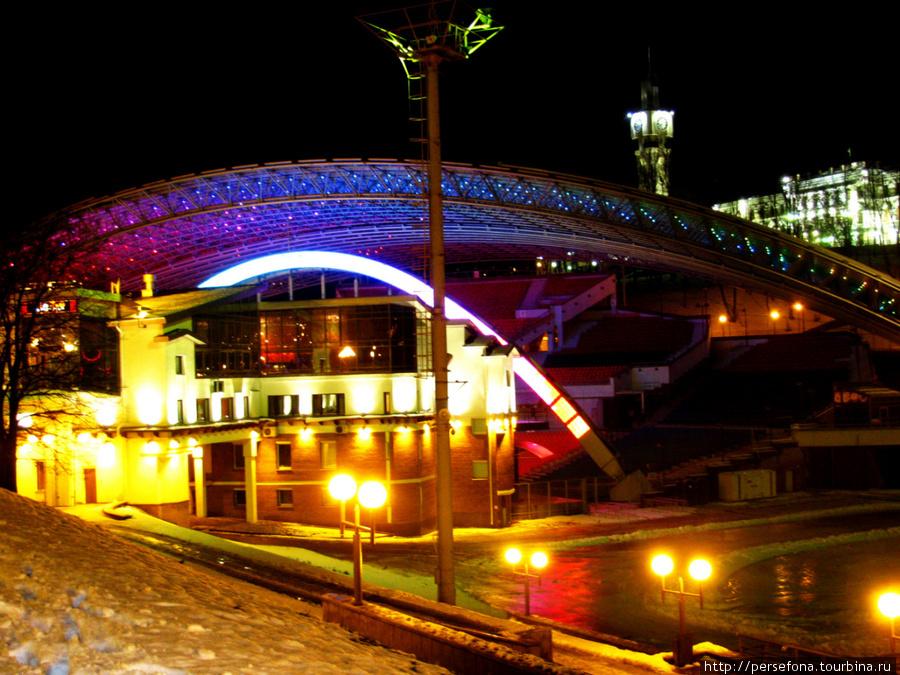 Летний Амфитеатр — главная концертная площадка международного фестиваля искусств «Славянский базар в Витебске»