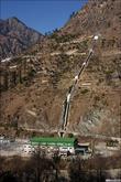 Сравнительно крупная ГЭС. 86 МВт, 480 метров перепада, запущена в 2001 году.