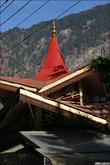 Забавный храм посвящённый Дурге, как я понял.