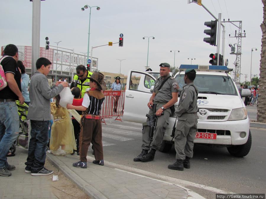 Израильская охрана