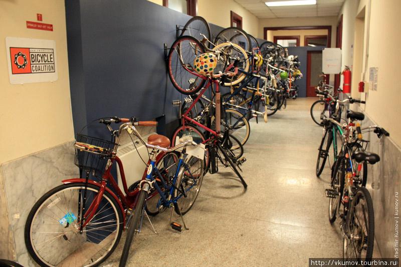А это — велоорганизация С