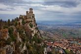 Башня Гуаита на горе Монте-Титано, 11 век