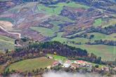 Виды с холма в Сан-Марино