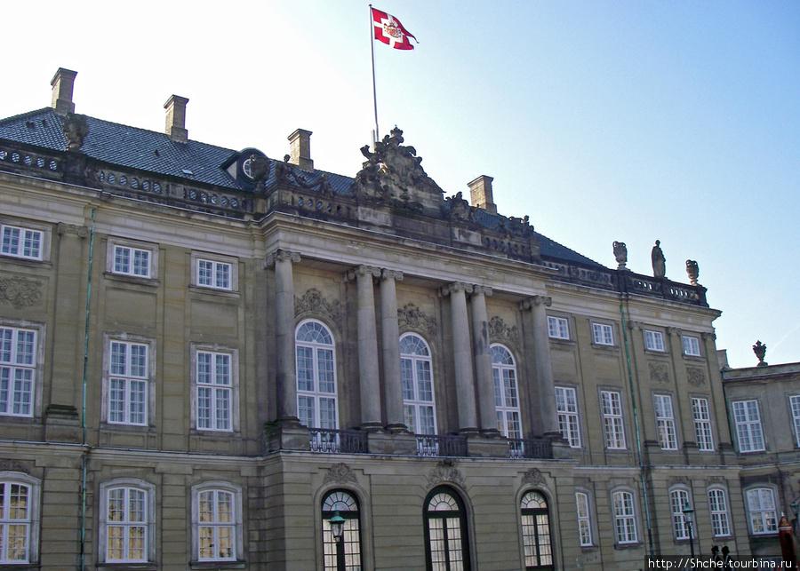 Королевский дворец Amalienborg
