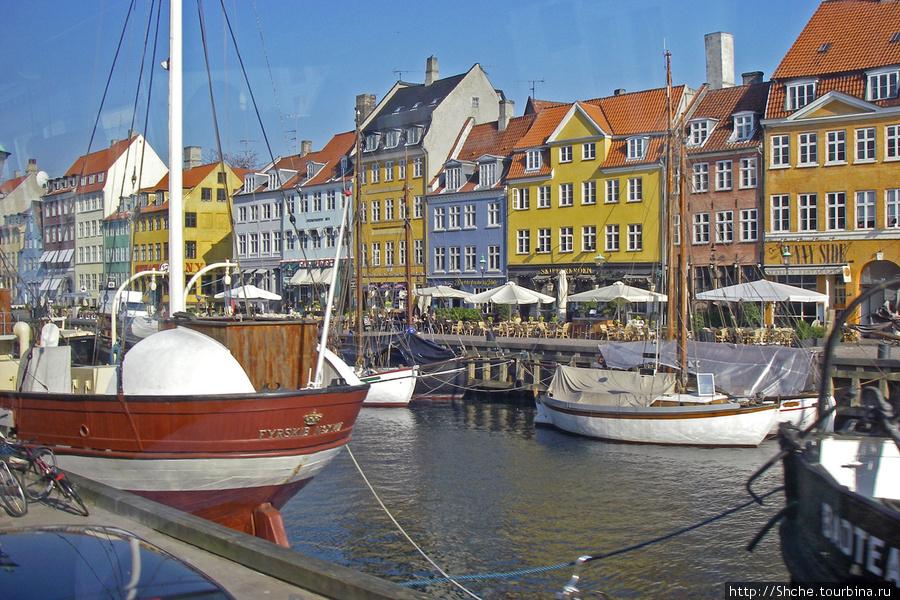 Канал Nyhavn.