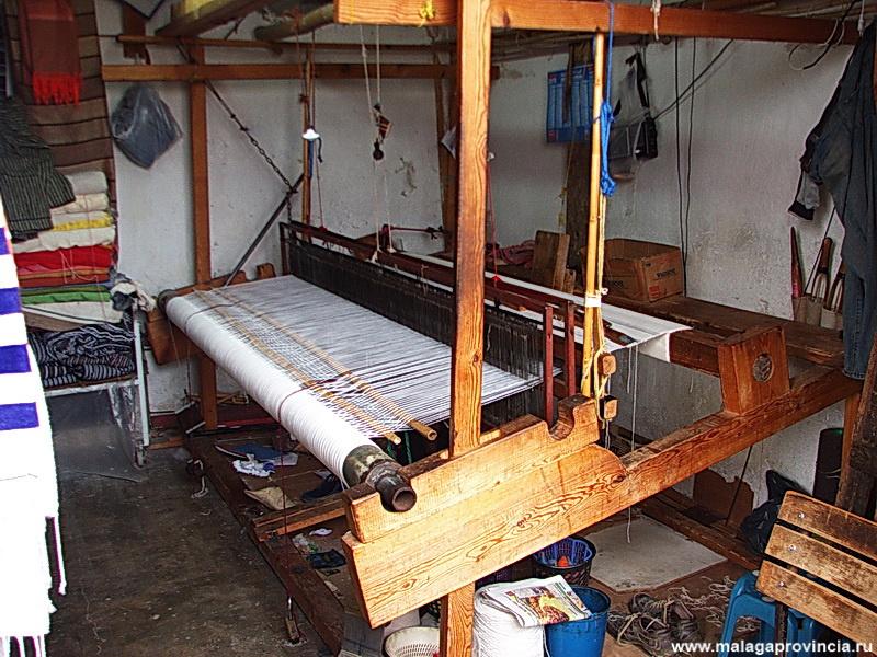 ткацкий станок в гильдии