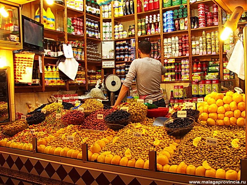 соления — оливки и лимоны
