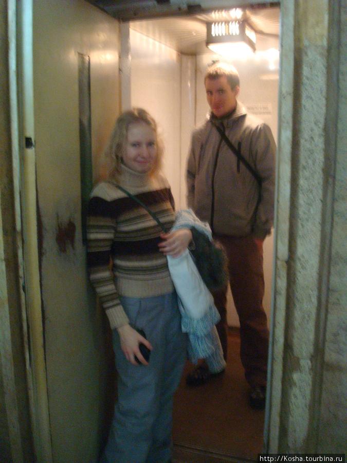 лифт в универе