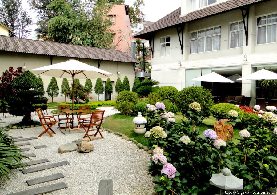 Внутренний дворик отеля