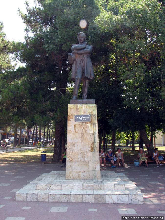 Памятник М.Ю.Лермонтову.