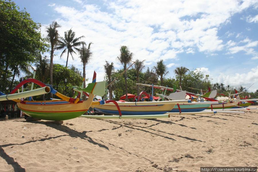 Пляжи Санура...серферов нет! Санур, Индонезия