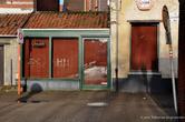 г. Тюрнхаут, Бельгия. Закрытое кафе в старом квартале Begijnhof