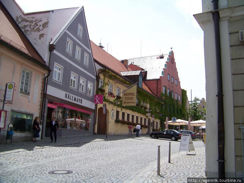 Центр, отель в старой крепости