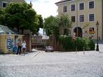 Площадь около собора и Ратуши