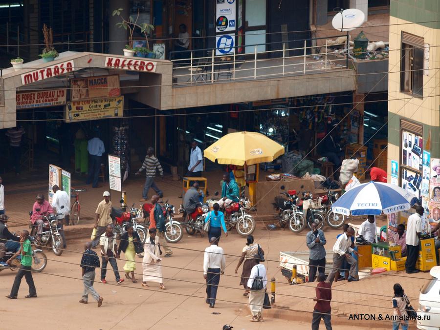 Улицы Кампалы