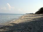Пляжи между Певкохори и Ханиоти.
