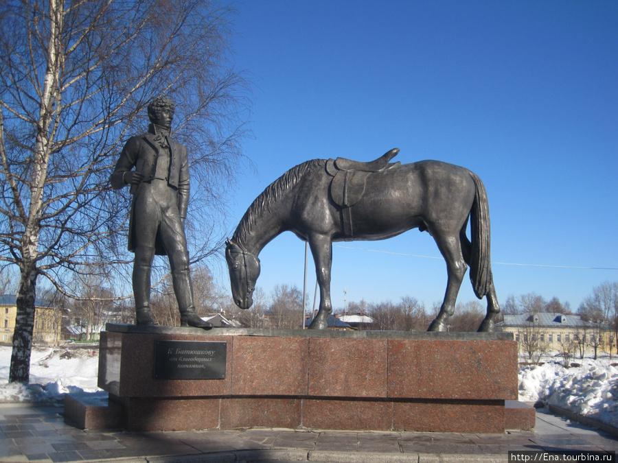Памятник Н.К. Батюшкову