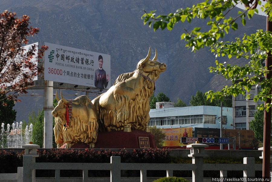 Памятник якам