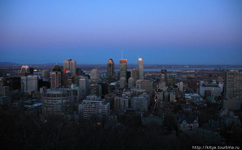 Монреаль после захода сол