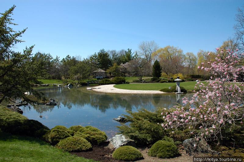 Японский сад в Монреале