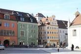 Старинные дома в Регенсбурге