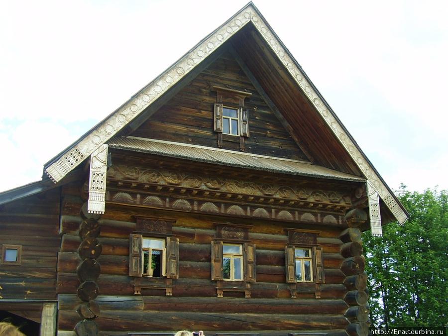 22.05.2010. Суздаль. Музей деревянного зодчества. Крестьянский дом