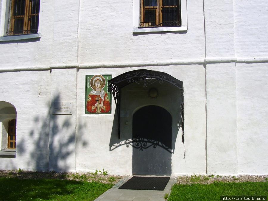 12.07.2009. Толгский монастырь. Храм Варвары