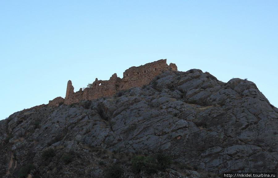 развалины турецкой крепости