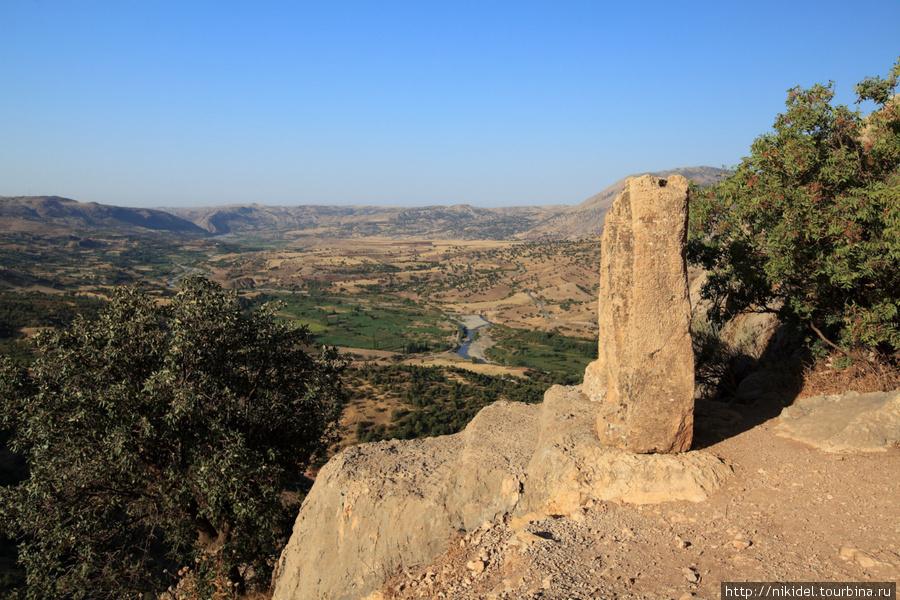 Арсамия располагалась на вершине горы