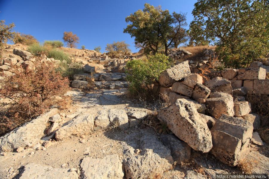 развалины столицы Коммагенского царства Арсамии