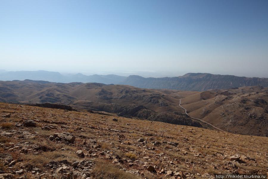 виды с горы Немрут