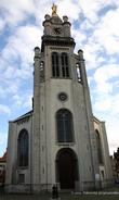 г. Синт-Никлас, Бельгия. Церковь Богоматери (Kerk van Onze-Lieve-Vrouw van Bijstand der Christenen) построена в нео-византийском стиле (1841-1844).