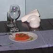 Десерт с айвой и халвой. Халва в Турции приторно сладкая и жидкая, а подают её теплой или даже горячей.