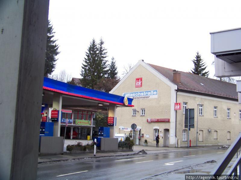 Сеть KiK в -магазин в Вассербурге у Красного моста