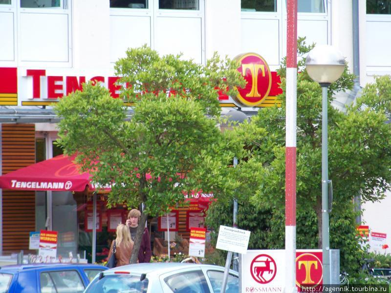 Магазин Tengelmann в Унтерхахинге
