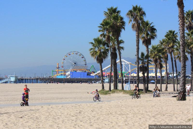 Фото на пляже лос анджелеса
