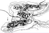 Схема храмов Шатрунджайи